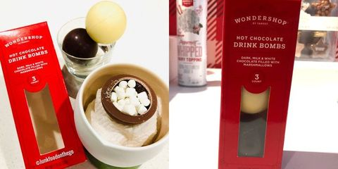 Target Is Selling Hot Chocolate Drink Bombs Filled With