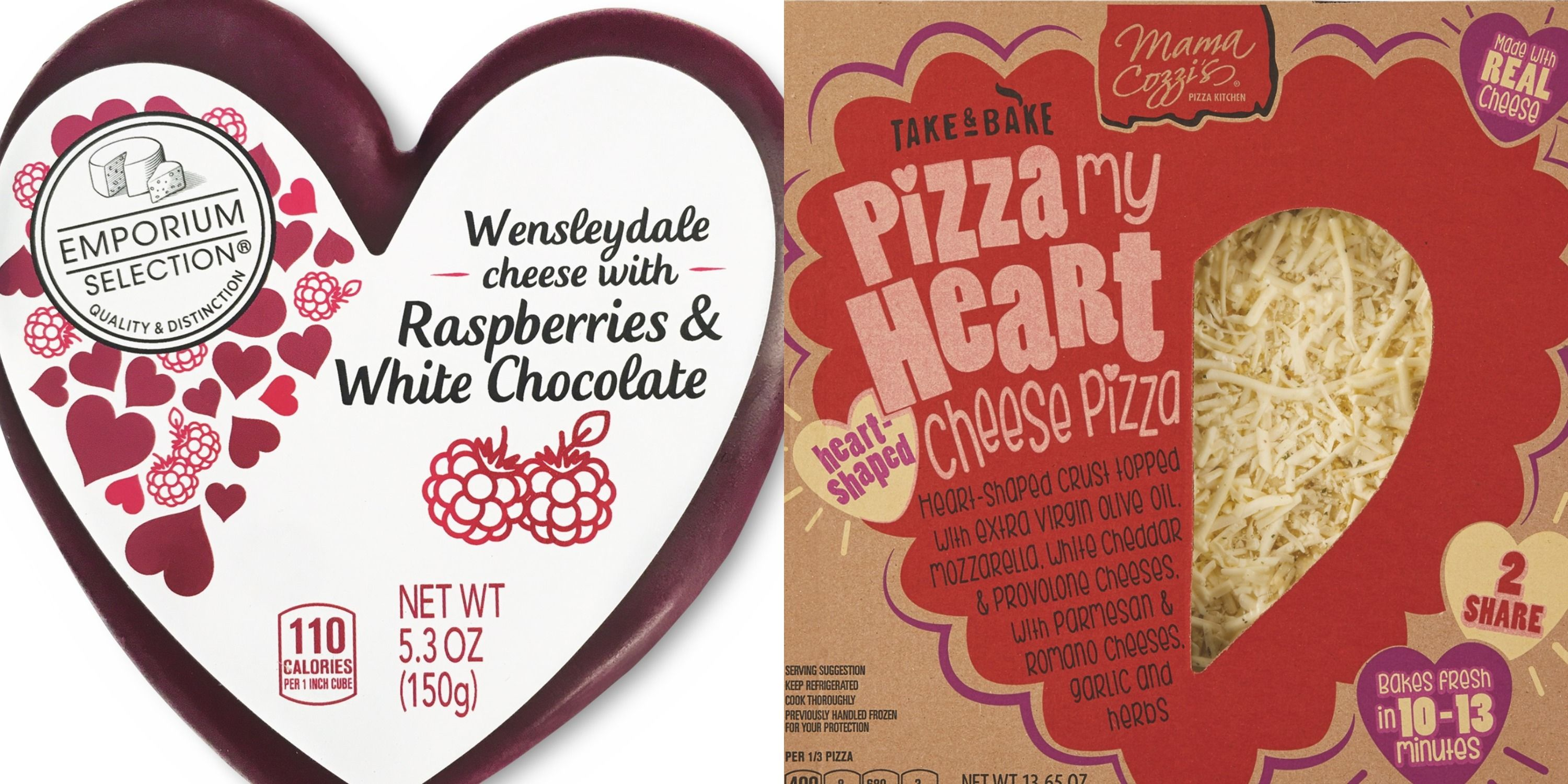 Aldi Is Selling Heart-Shaped Pizza and Cheeses That Will Make Valentine's Day a Breeze