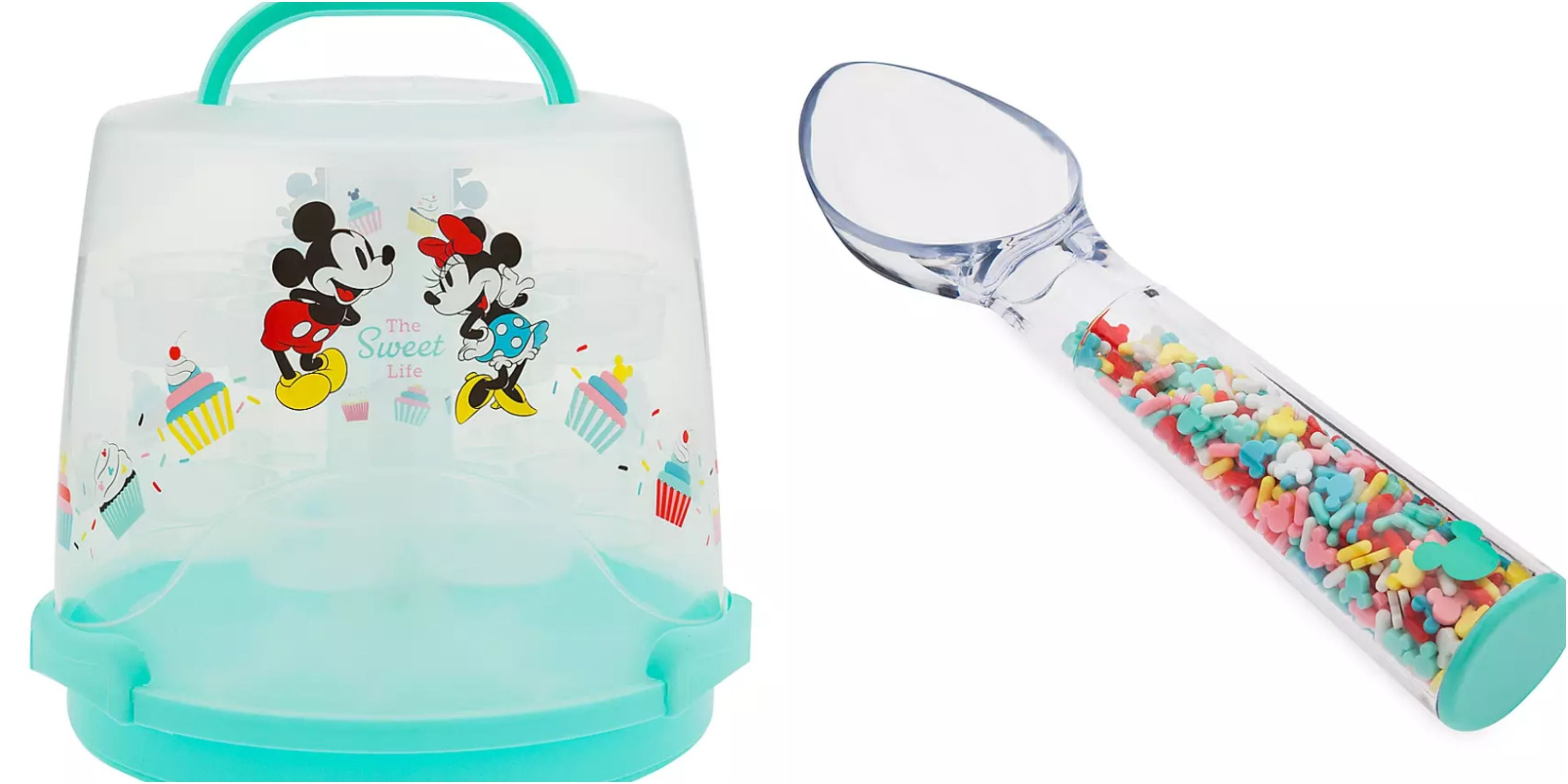 Disney Released The Cutest Kitchen Items Including Plates, Cake Holders, And Cups