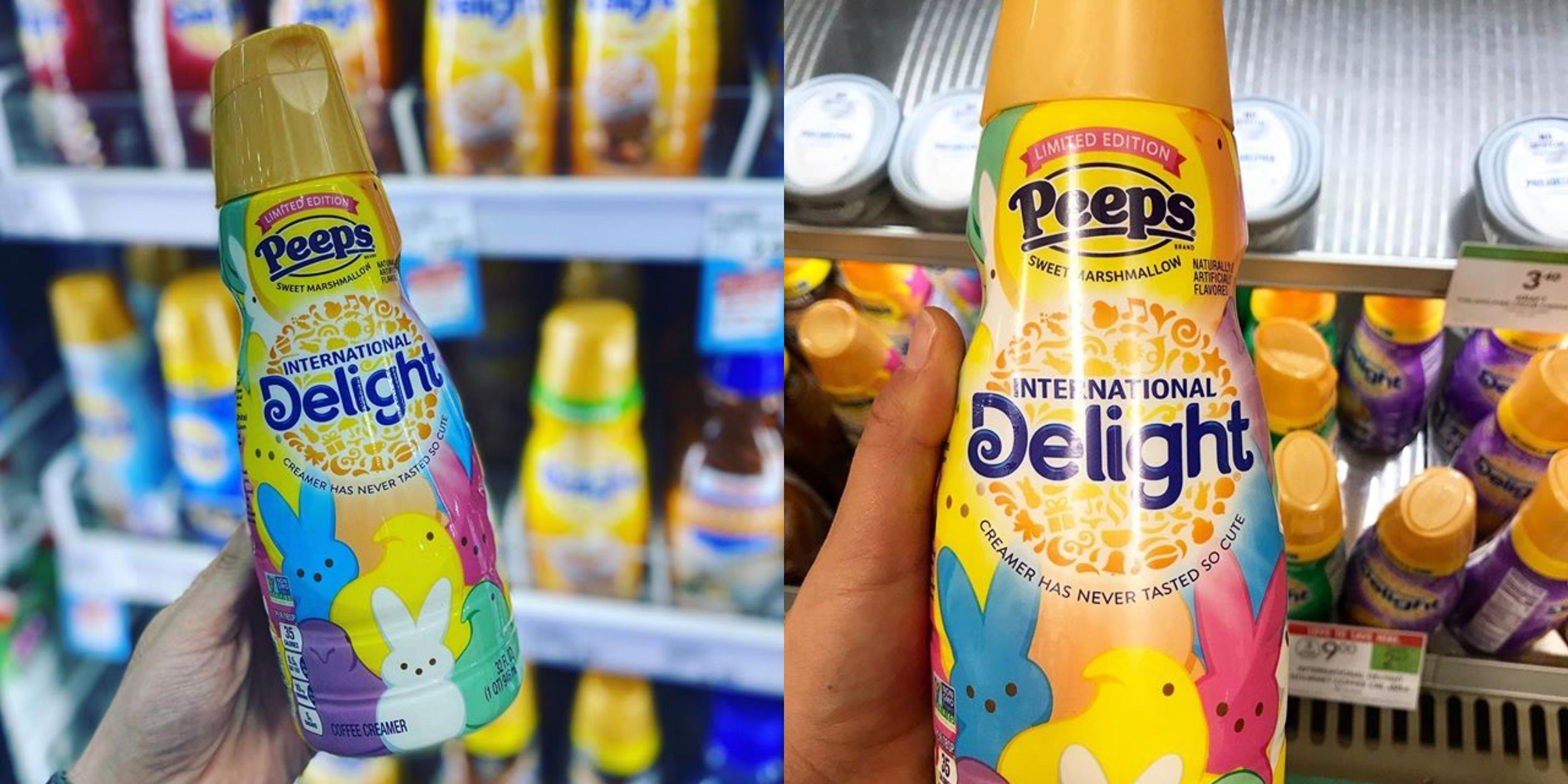 Peeps Coffee Creamer Is Back In Stores 3 Months Before Easter
