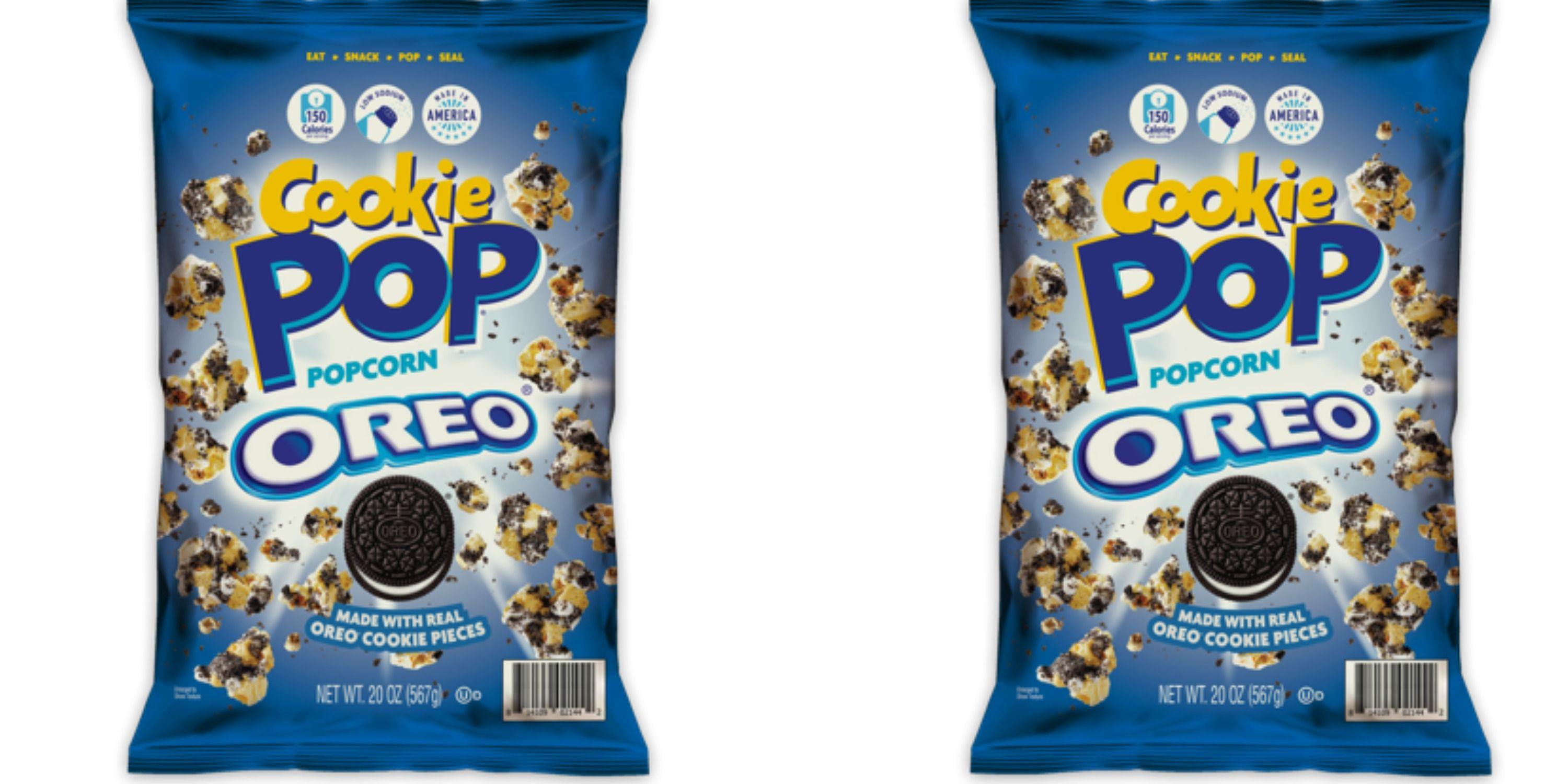 Sam's Club Is Selling Popcorn Covered in Oreo Cookies and It Makes the Perfect Movie Snack