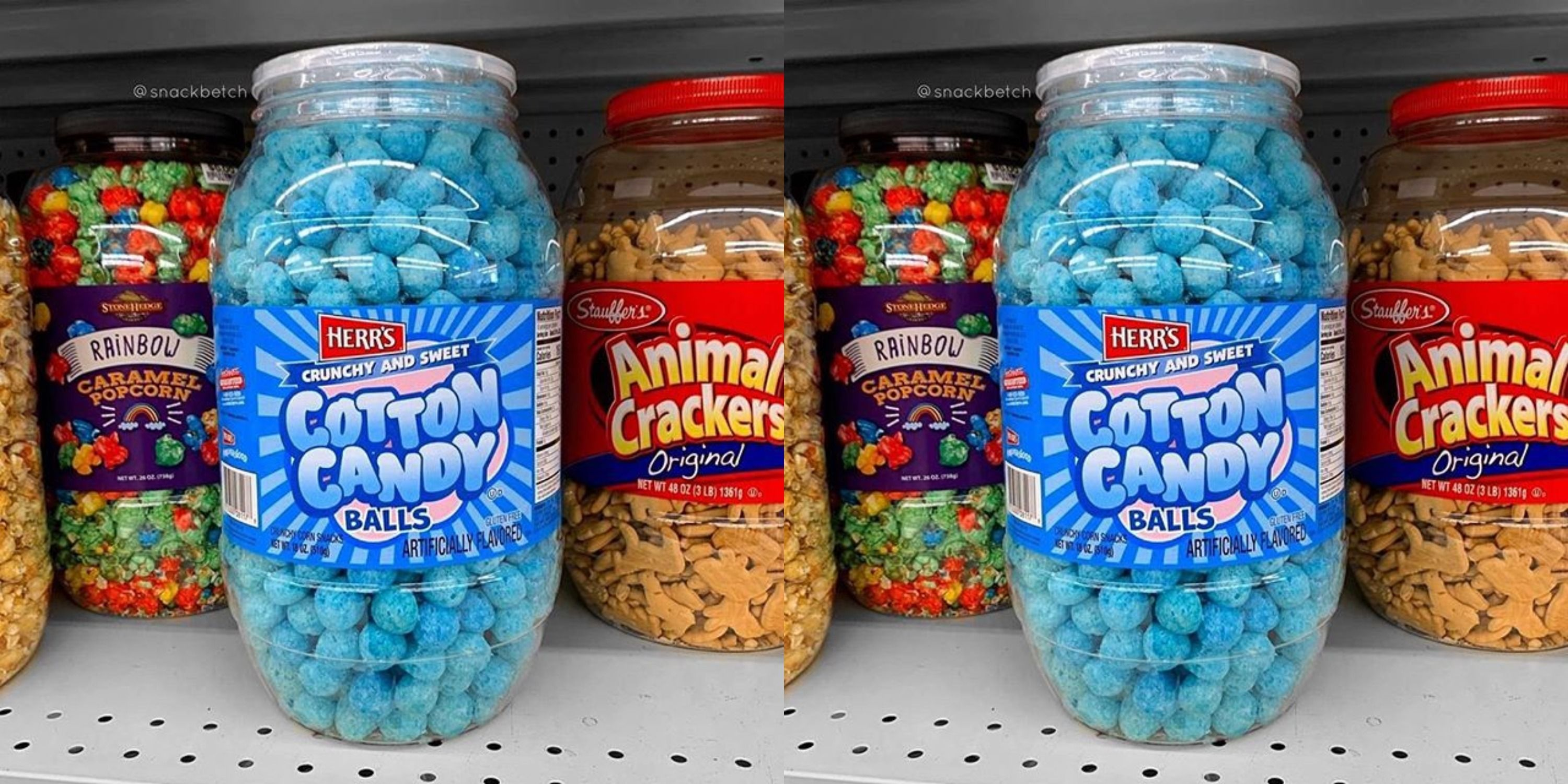 You Can Buy A Tub Of Cotton Candy Balls But, Um, Would You Even Want To?