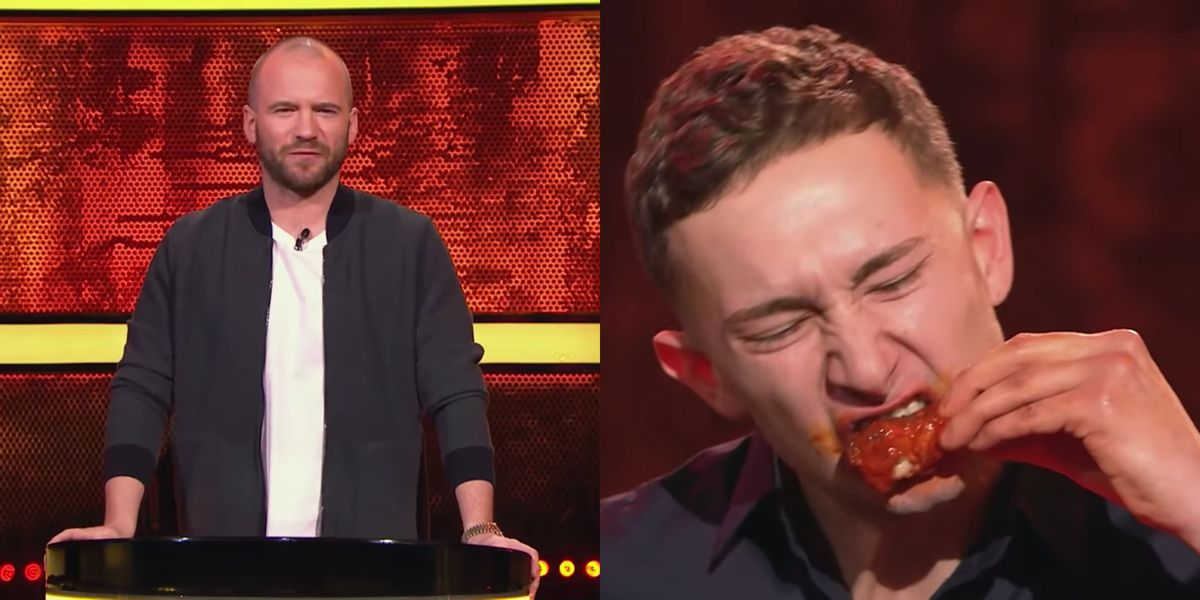 """""""Hot Ones: The Game Show"""" Premieres Tonight And It Looks Way More Insane Than The YouTube Series"""