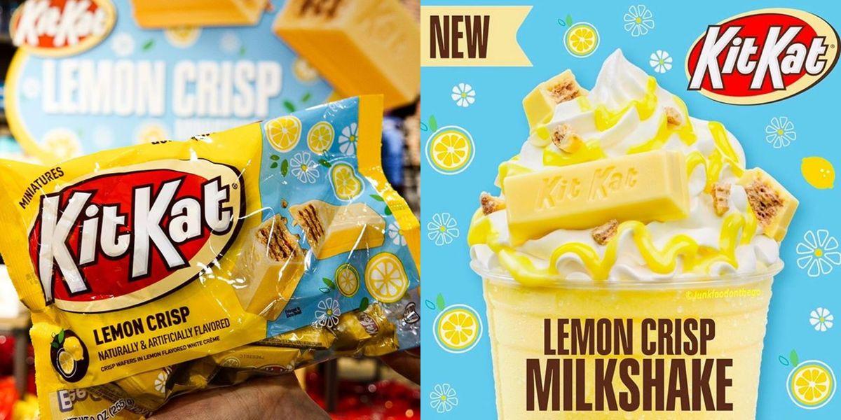 If You Love New The Lemon Crisp Kit Kat, You'll Lose Your Mind For This Lemon Crisp Milkshake