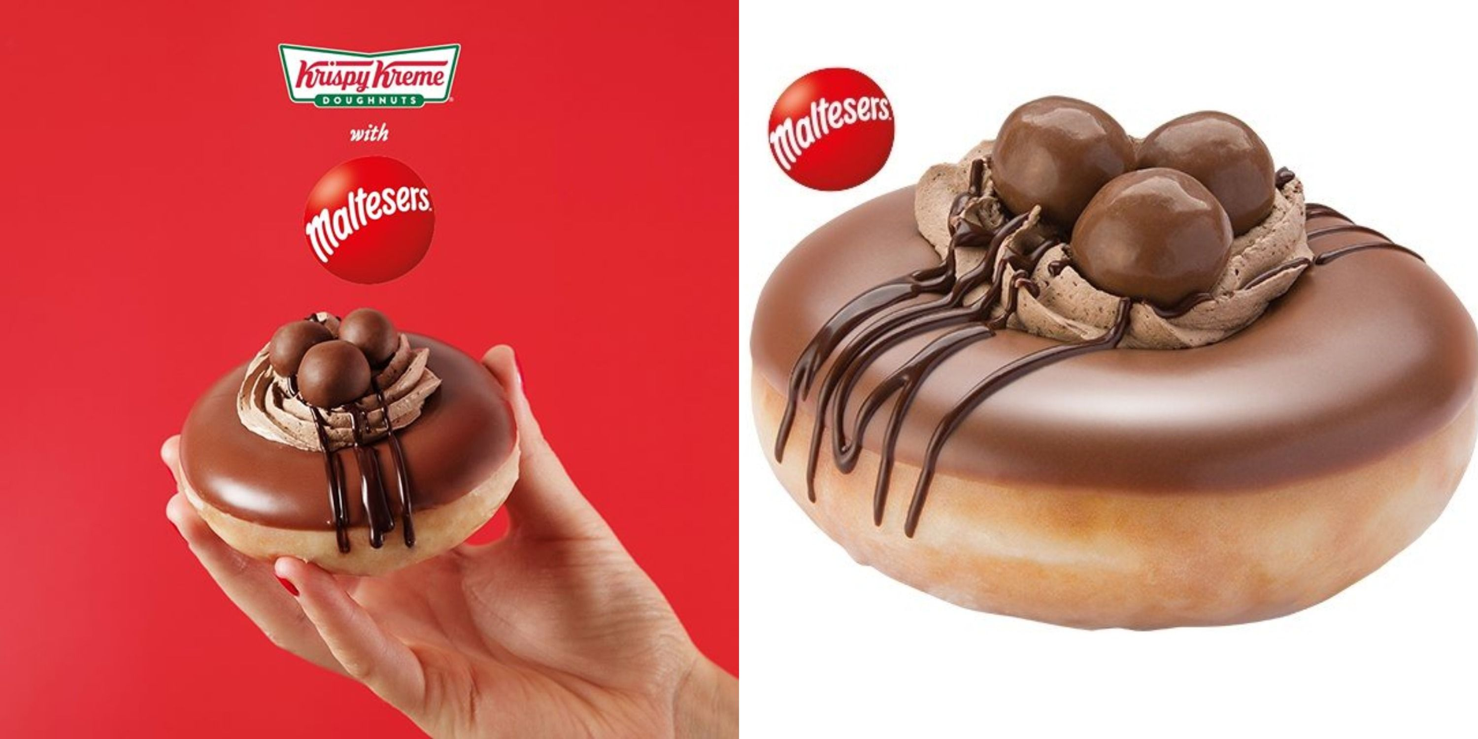 Krispy Kreme Released A New Donut Topped With Maltesers Chocolate