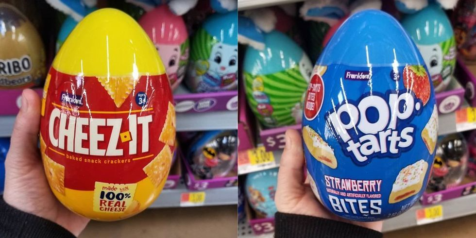 Walmart Is Selling An Easter Egg That's Filled With Cheez-Its