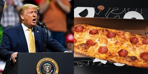 Food, Dish, Pizza, Cuisine, Pizza cheese, Fast food, Junk food, Flatbread, Ingredient, Italian food,