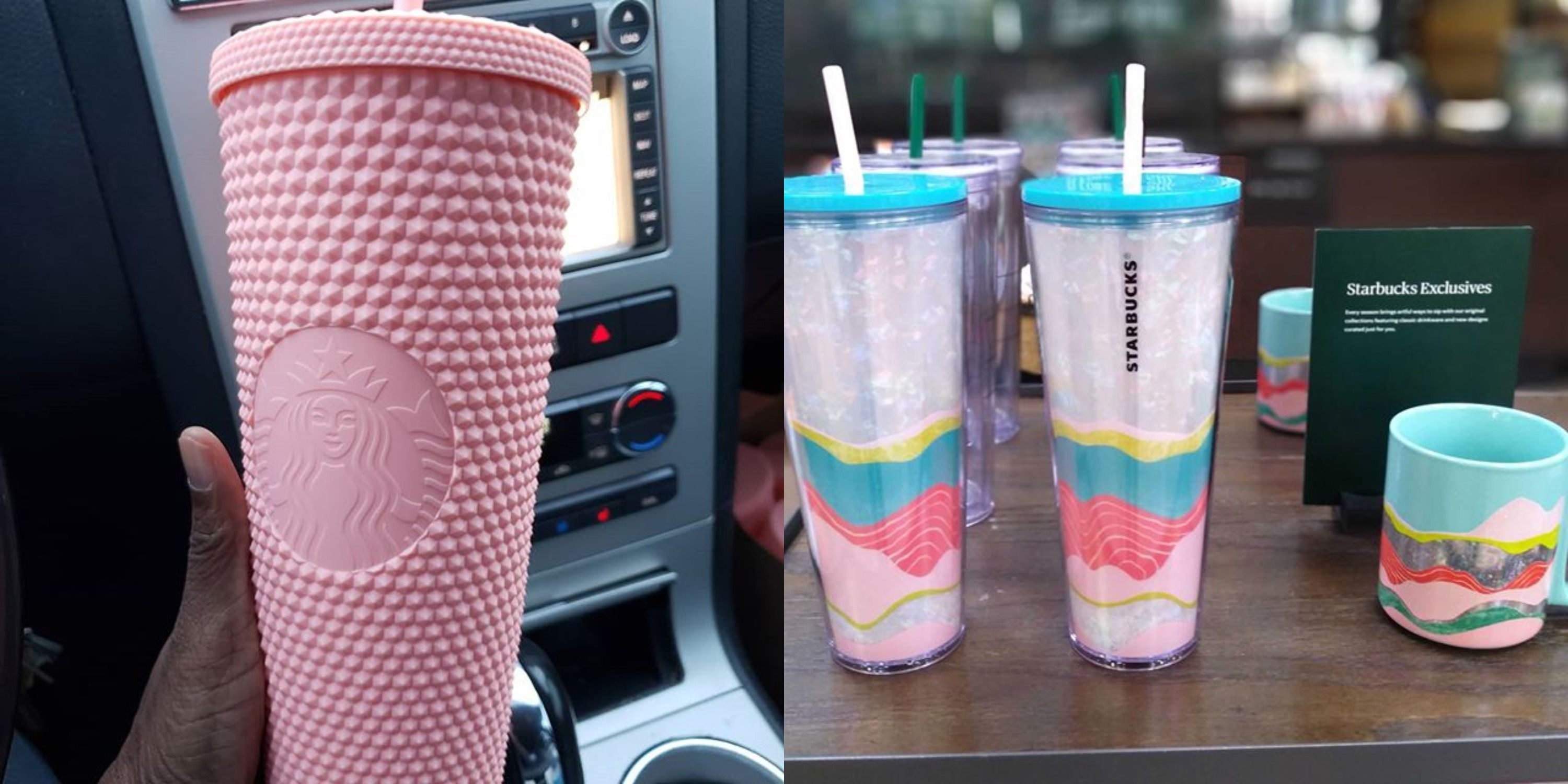 Starbucks Has New Tumblers And Mugs For Spring 2020 Matte Pink Cup Easter Mugs
