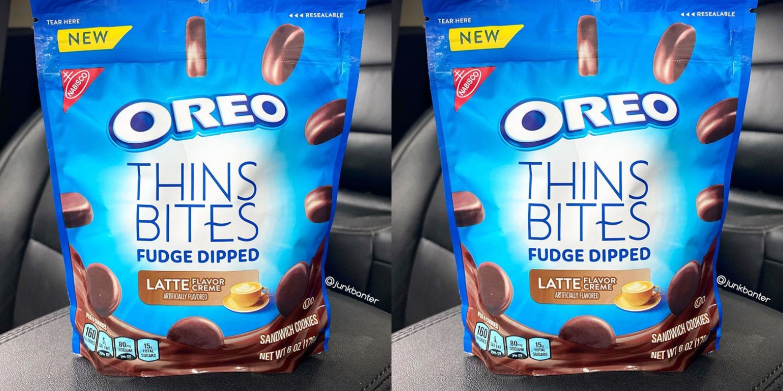 Oreo Is Launching Latte Cream Fudge Dipped OreoThin Bites