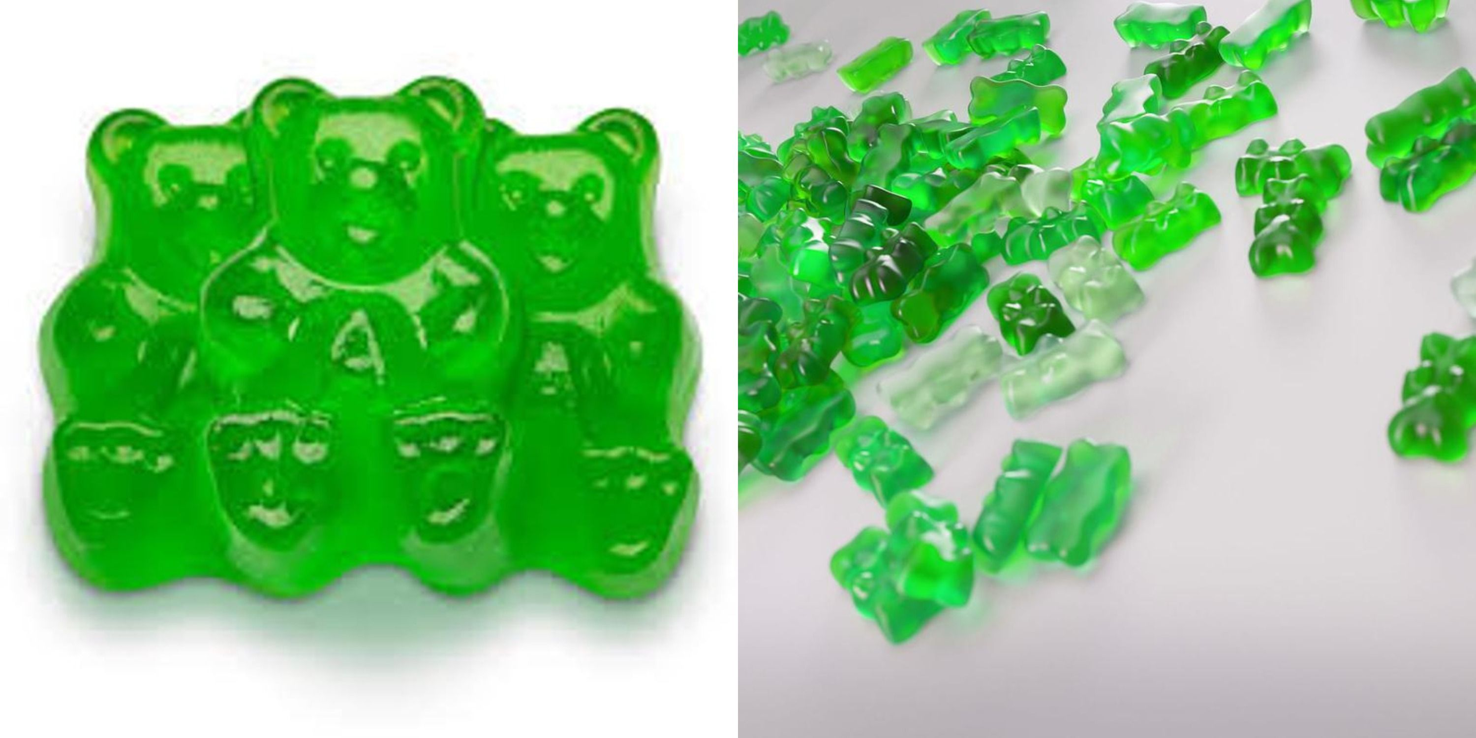 Glittery Fireball Gummy Bears Are Perfect For St. Patrick's Day
