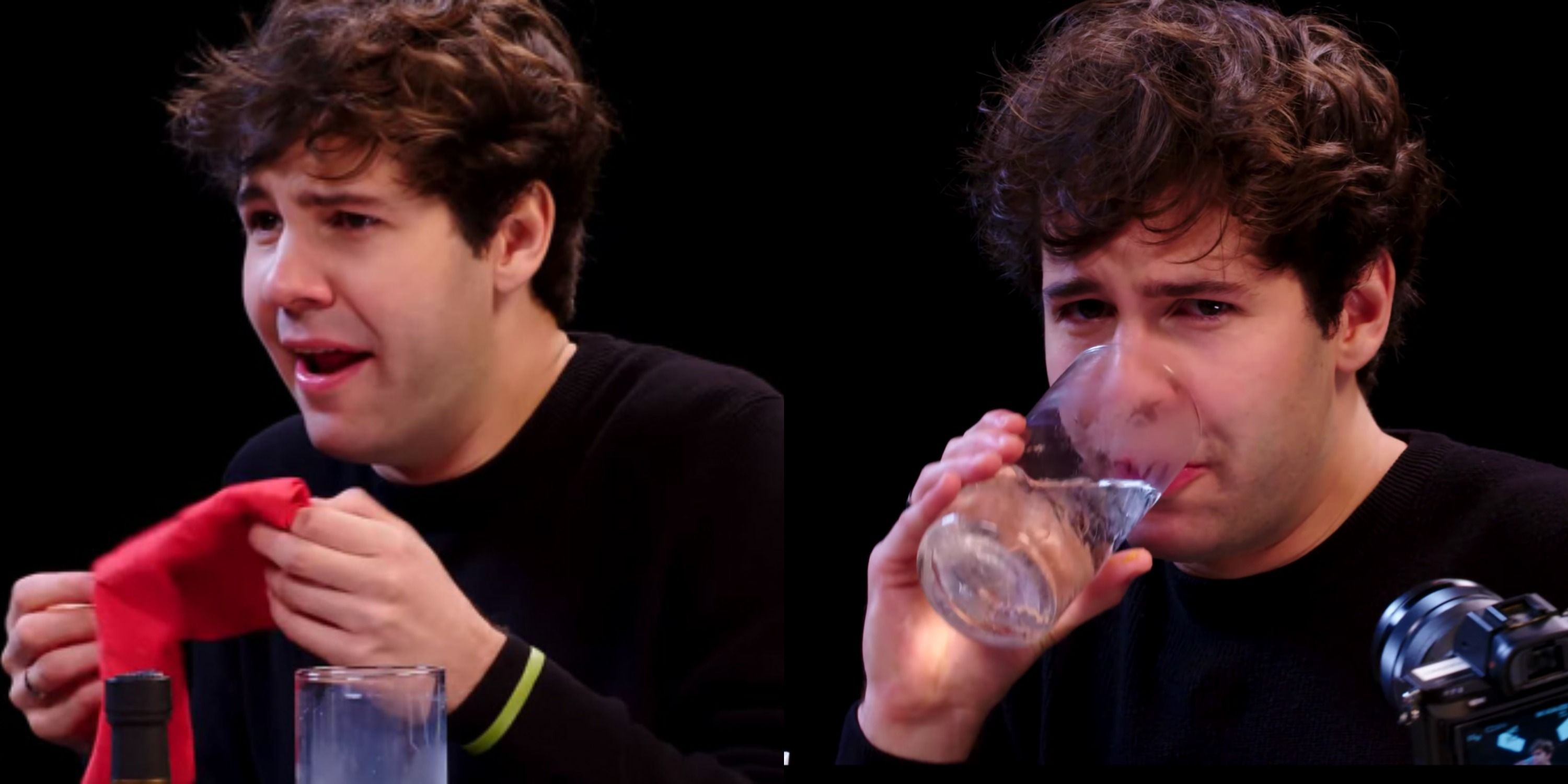 David Dobrick Puked After Eating Spicy Wings On 'Hot Ones'