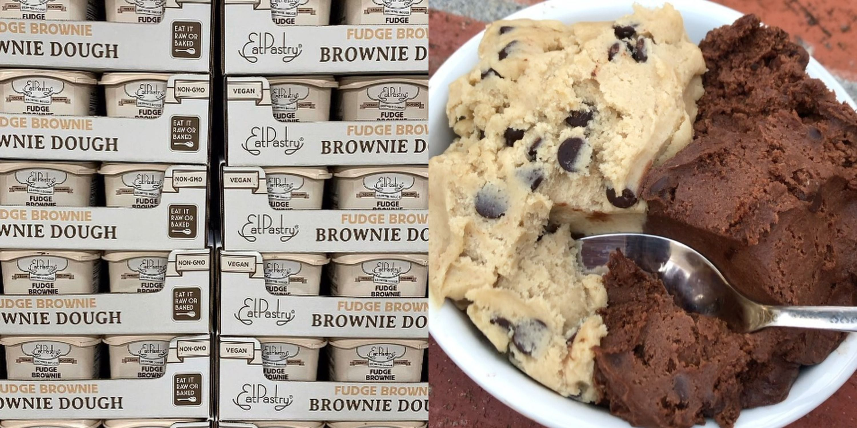 Costco Is Selling Giant Tubs Of Brownie Dough You Can Eat Raw