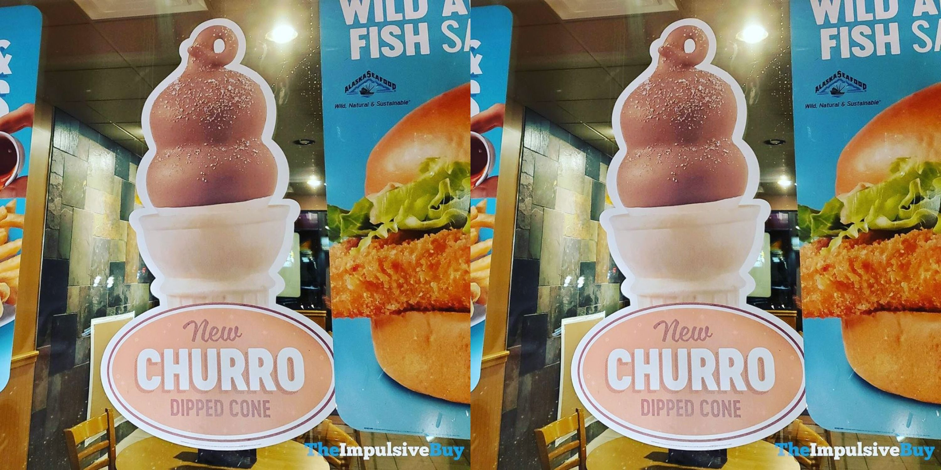 Dairy Queen Has Been Spotted Selling A Churro Dipped Cone