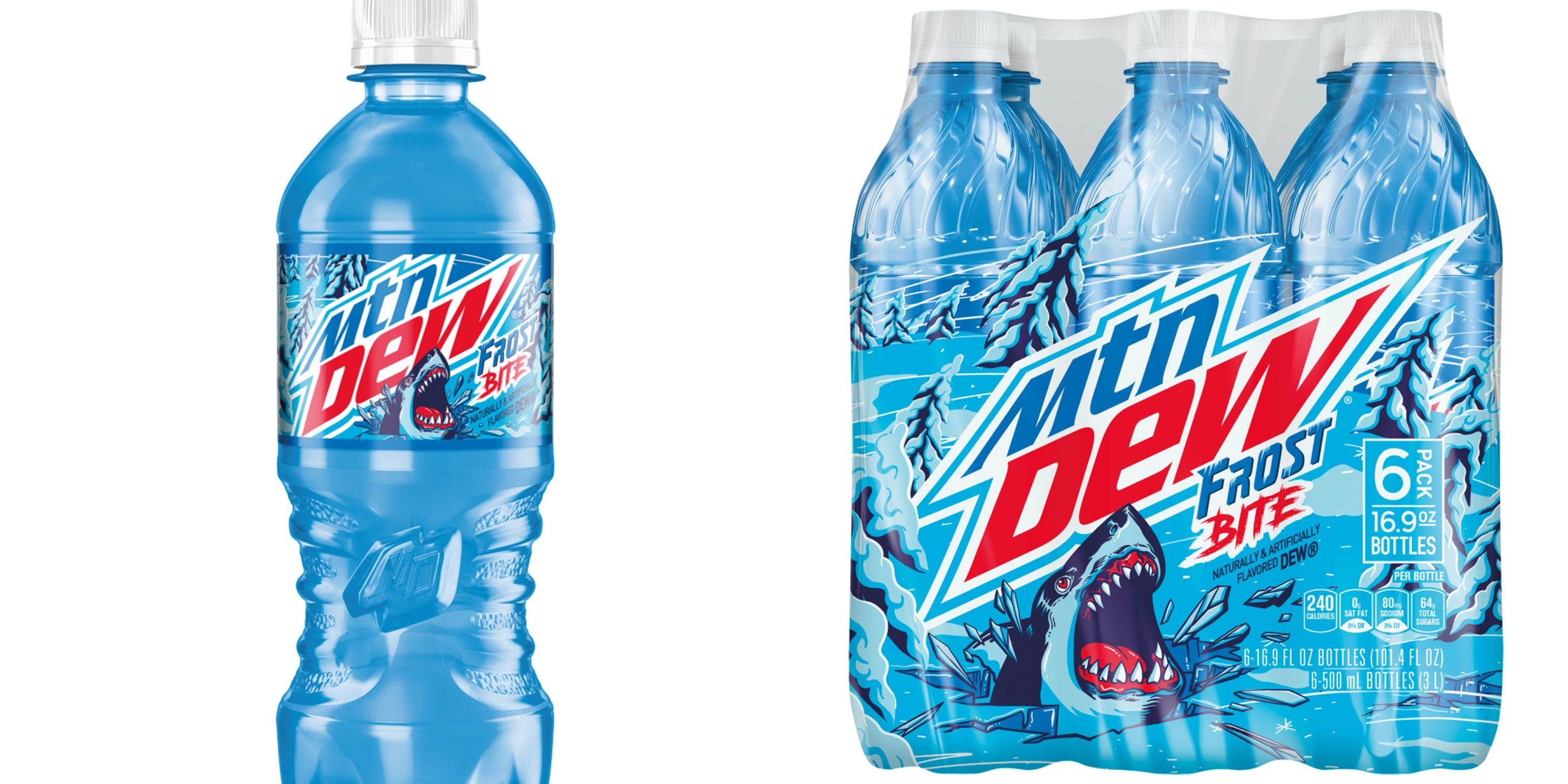 Mountain Dew's Newest Flavor Frost Bite Tastes Like Cool Melon
