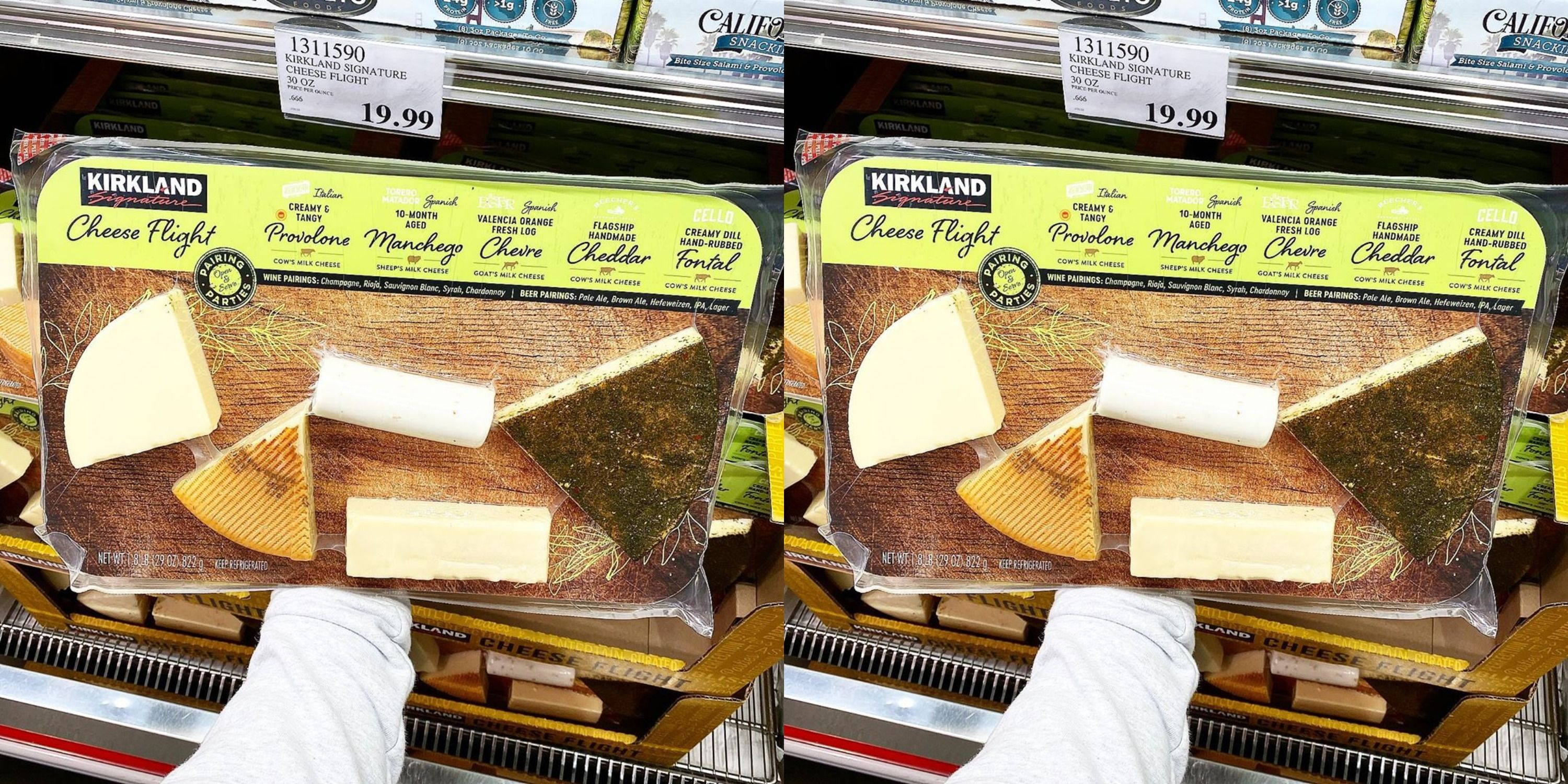 Costco Released A New Cheese Flight That People Are Loving
