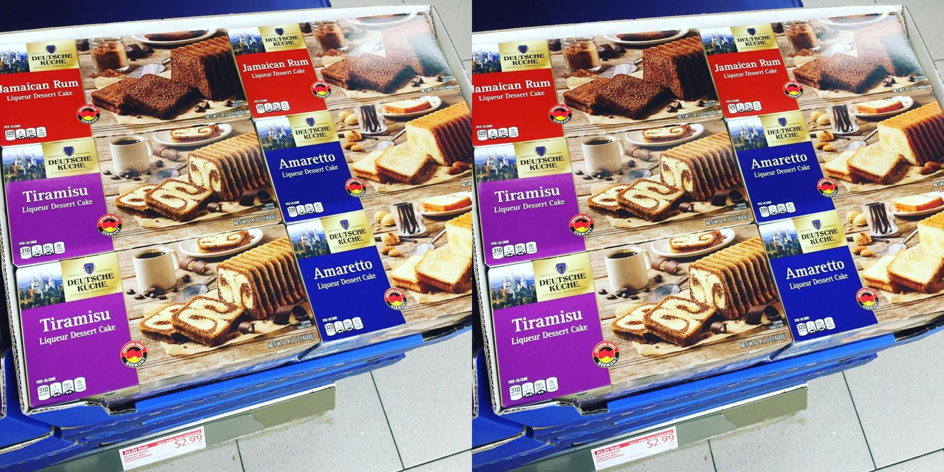 Aldi Is Selling Tiramisu And Jamaican Rum Loaf Cakes
