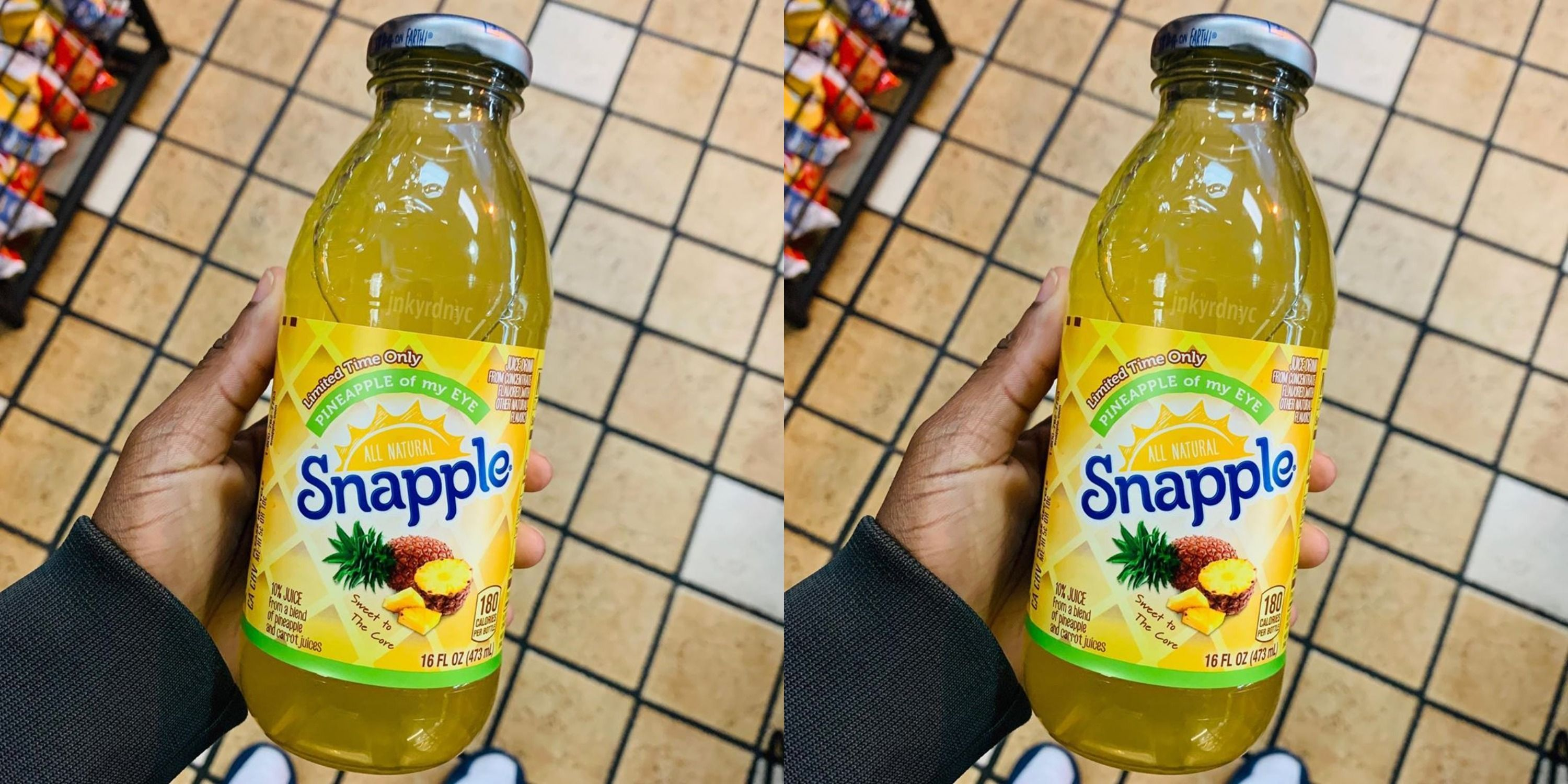 Snapple Released A New Pineapple Flavor For Summer