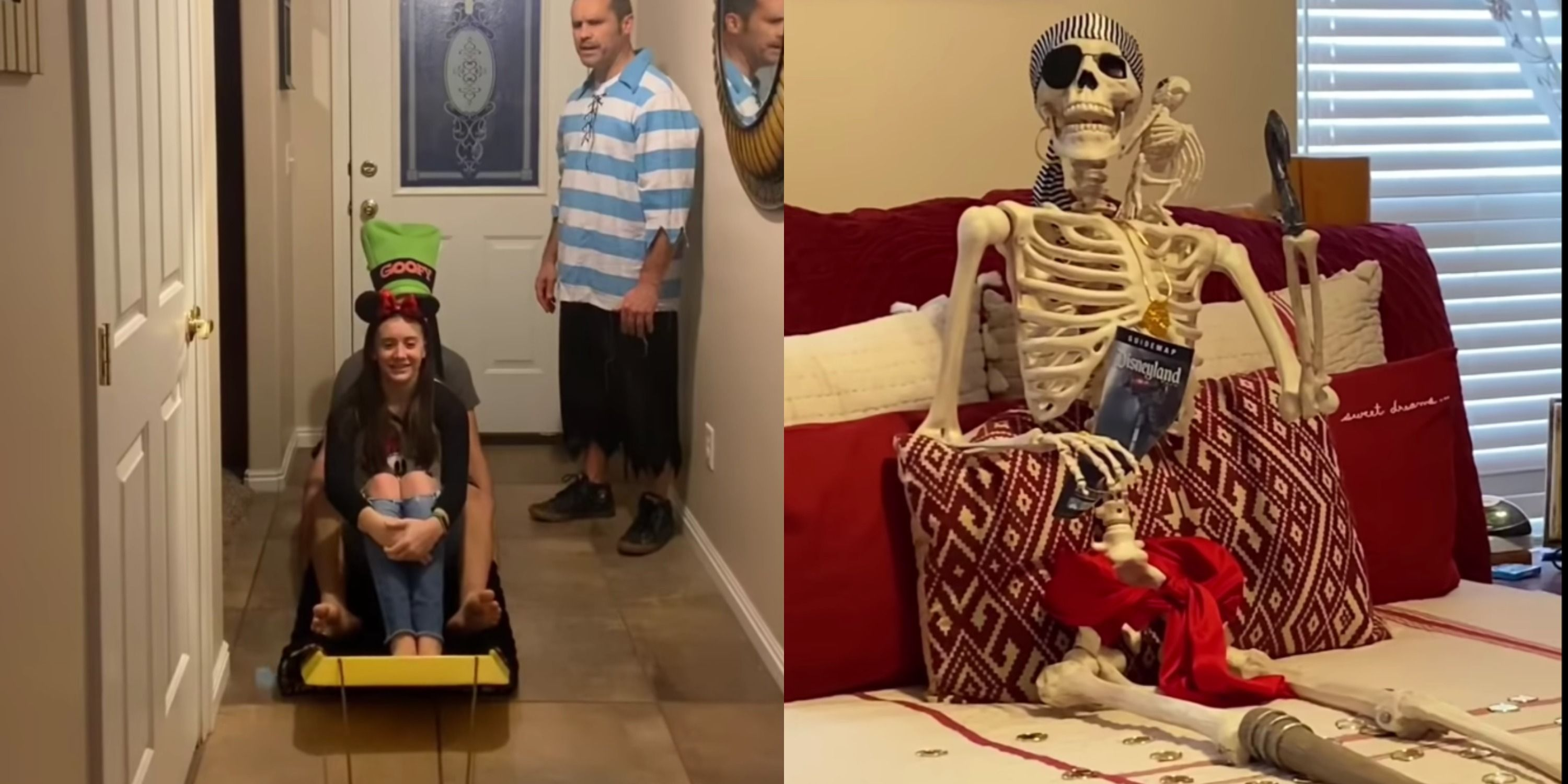 A Family Recreated Disney's Pirates Of The Caribbean Ride At Home