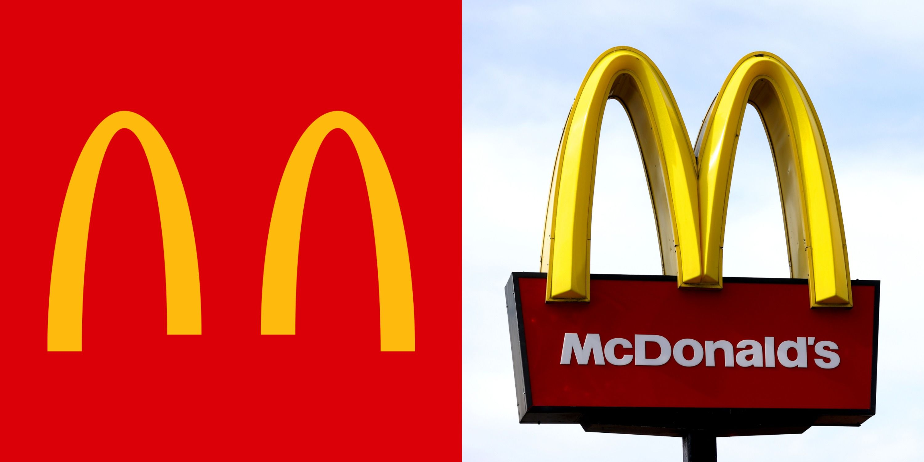 McDonald's Brazil Separated The Golden Arches In Favor Of Social Distancing