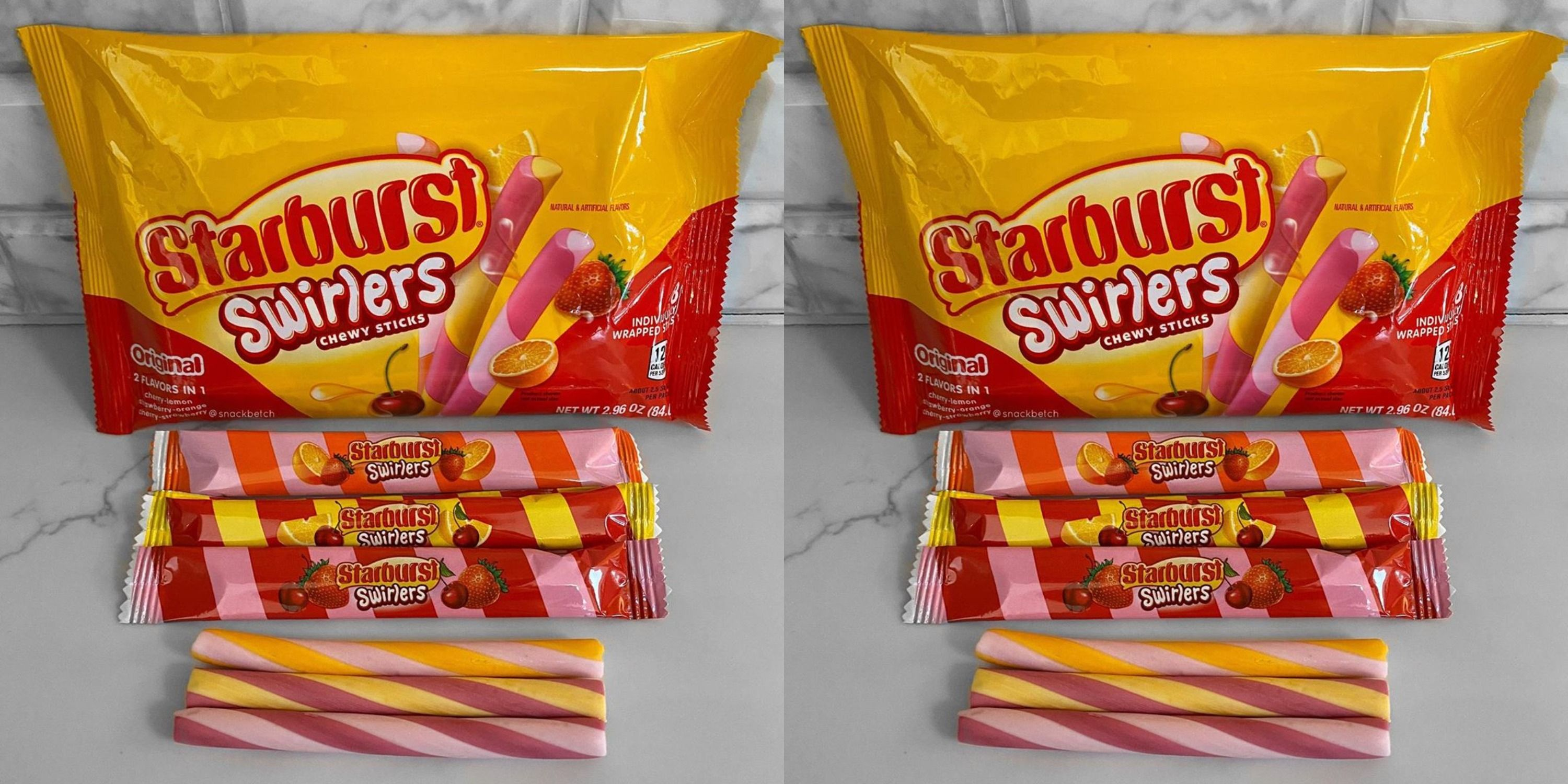 Starburst Swirlers Combine Flavors In One Candy