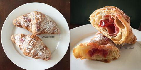 Dish, Food, Cuisine, Croissant, Ingredient, Baked goods, Pastry, Turnover, Dessert, Viennoiserie,