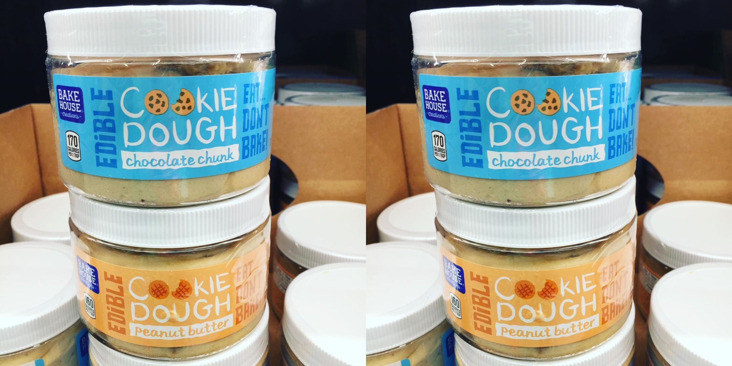 Aldi Has Jars Of Edible Cookie Dough Safe To Eat Raw