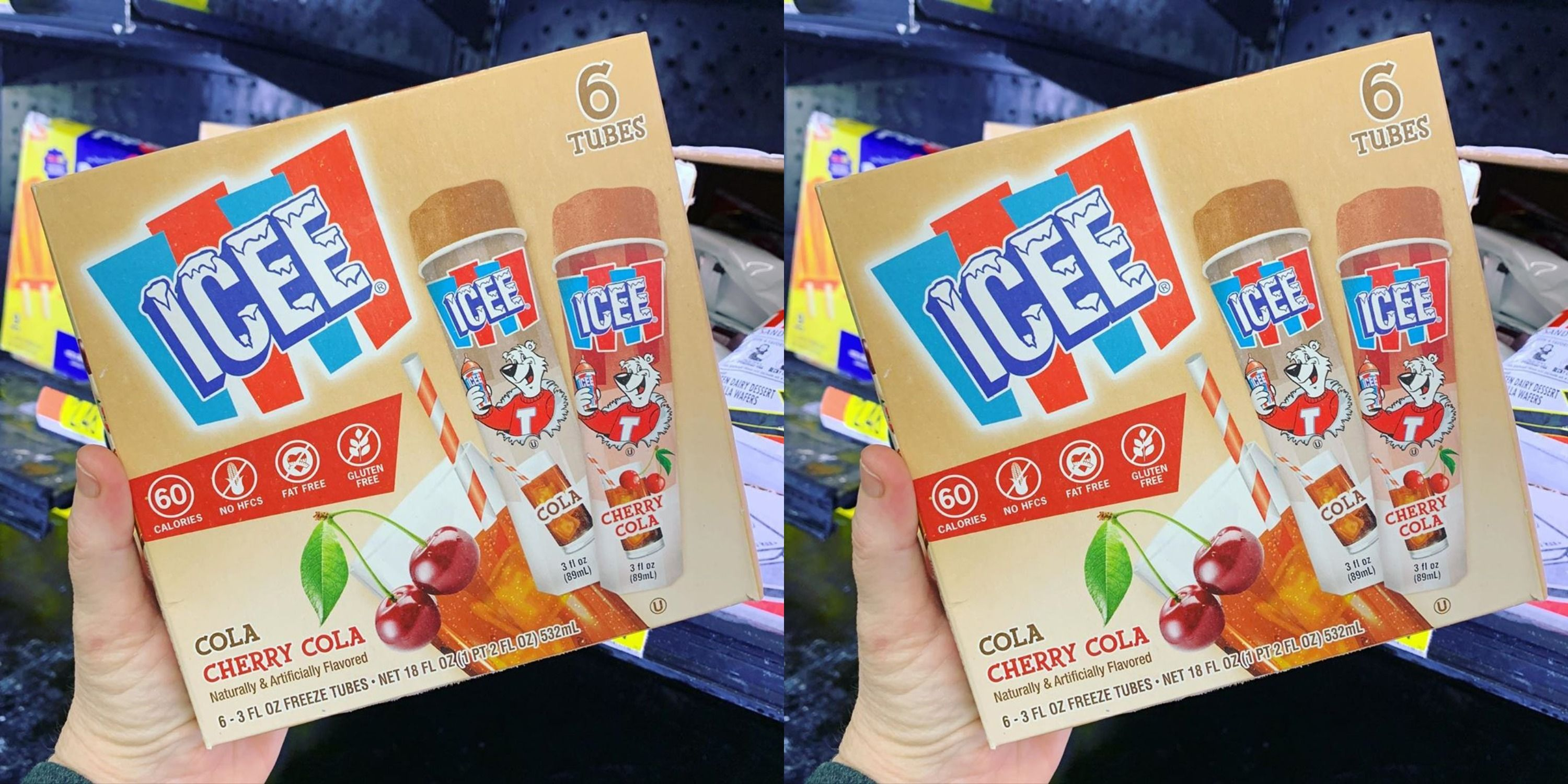 Icee Pops Come In A Cherry Cola Flavor Now