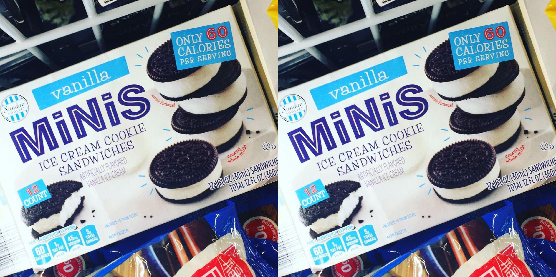 Aldi Is Selling Mini Ice Cream Cookie Sandwiches