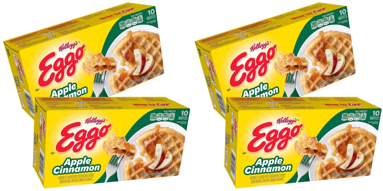 Apple Cinnamon Eggo Waffles Are Finally