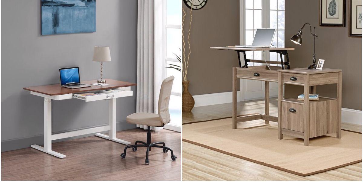 Height Adjustable Standing Desks, Best Height Adjustable Desk For Home Office