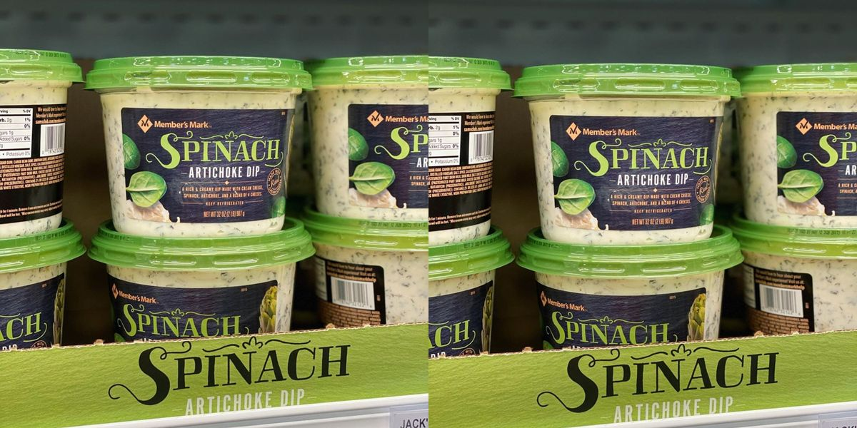 Sam S Club Is Selling Massive Tubs Of Spinach Artichoke Dip