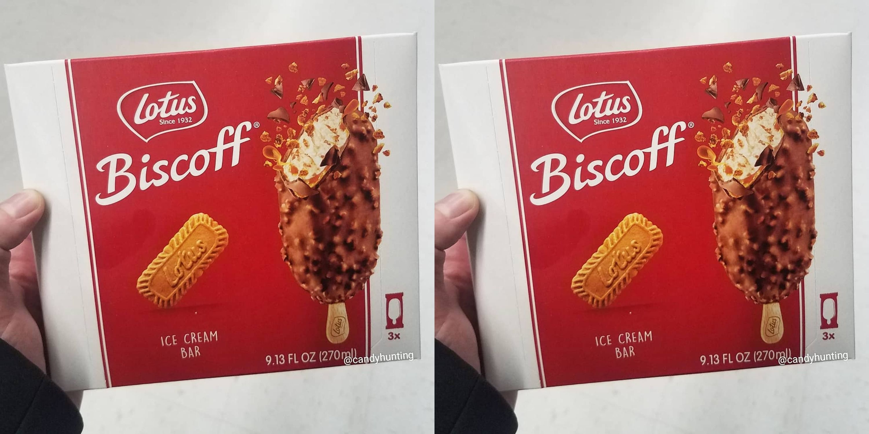 Lotus Biscoff Ice Cream Bars Are Here In The U.S.