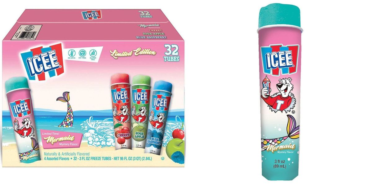 ICEE Released A Limited-Edition Mermaid Mystery-Flavored Ice Pop And People Cannot Figure It Out