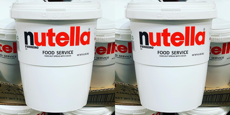 Costco Is Selling A Massive, 7-Pound Tub Of Nutella