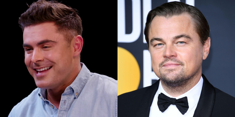 Zac Efron Said Leo DiCaprio Made Him Waffles But Burned Them