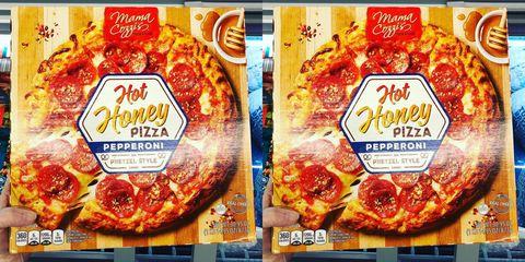 Food, Convenience food, Cuisine, Dish, Ingredient, Prepackaged meal, Pizza, Junk food, Pepperoni, Advertising,