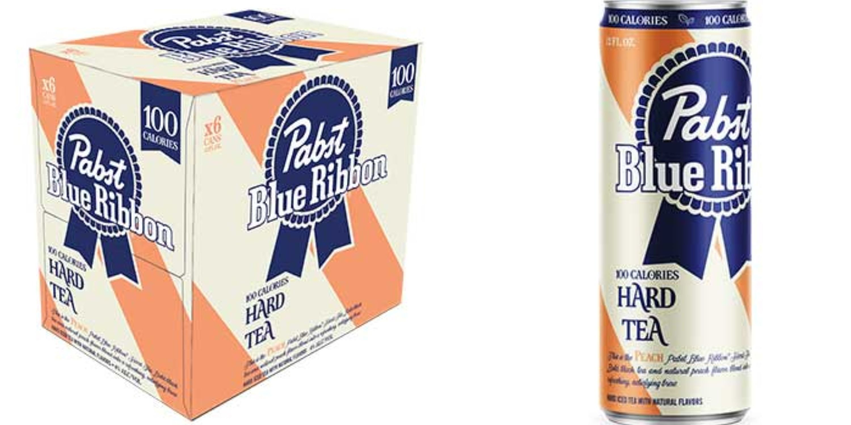 PBR Released A Hard Peach Tea For Summer