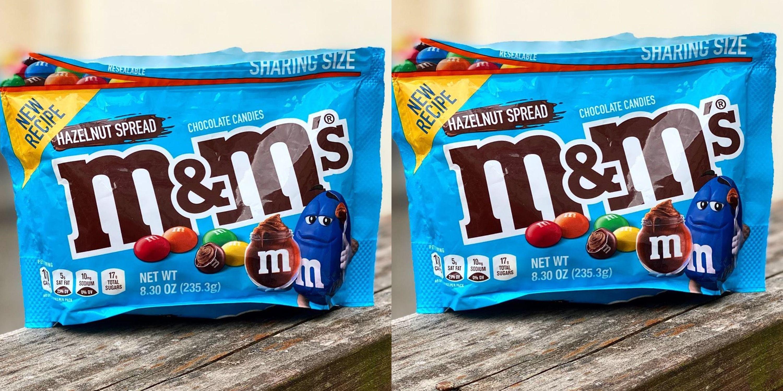 Hazelnut M&M's Have A Brand-New Recipe