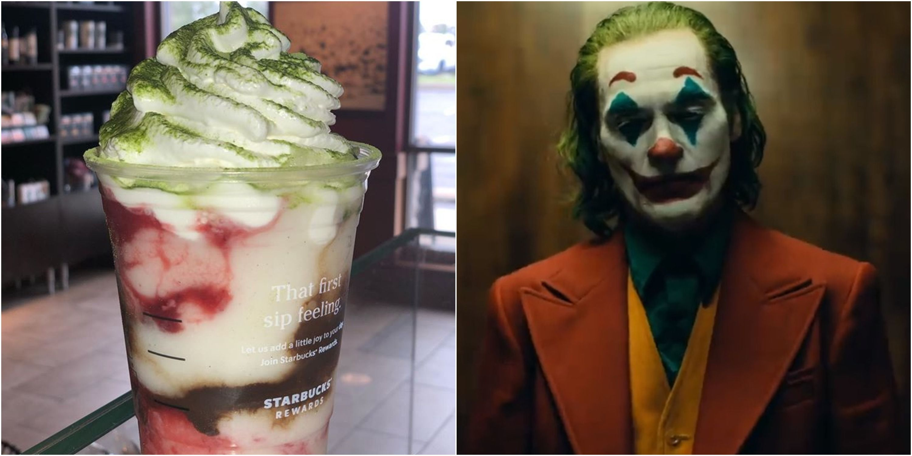 People Are Loving The Joker Frappuccino Even More Than The Movie That Inspired It
