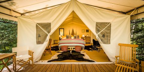 best places to go glamping 2018