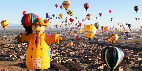 Albuquerque International Balloon Fiesta — Albuquerque, New Mexico
