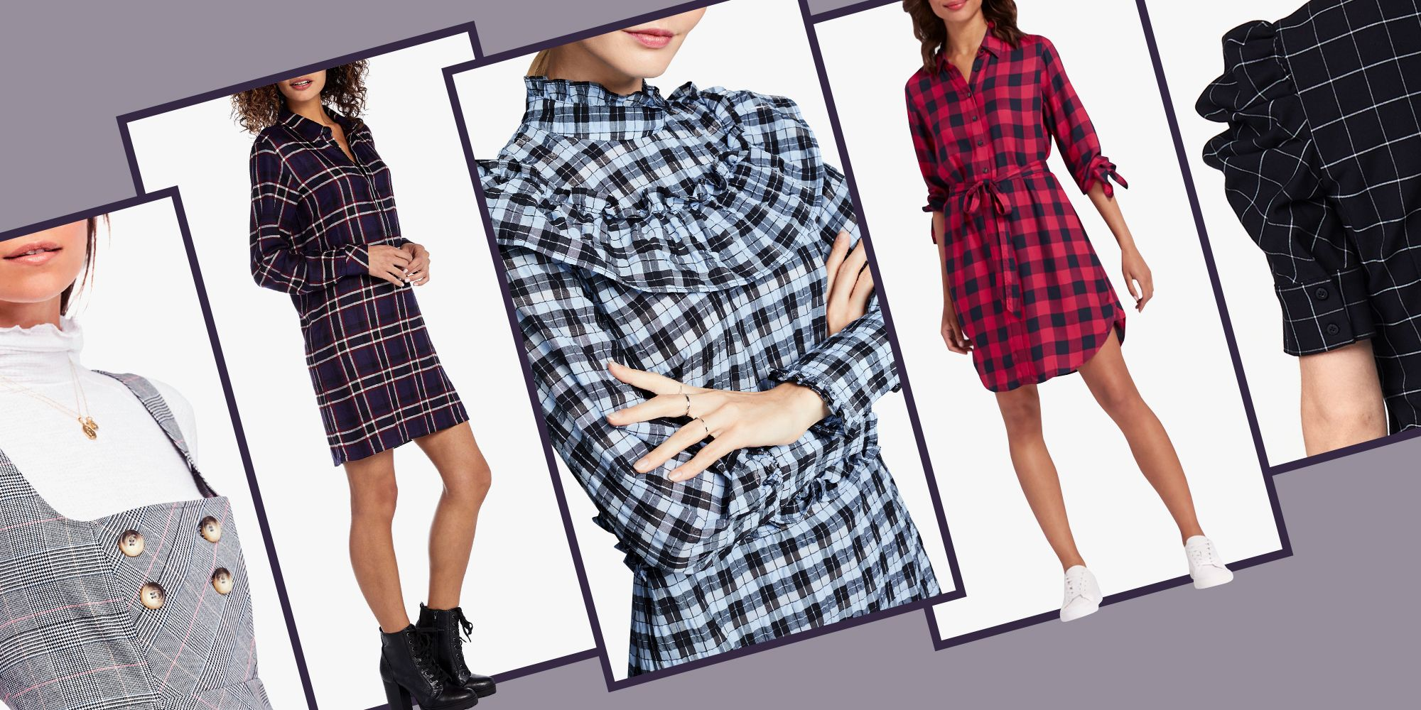 plaid dresses best 2018