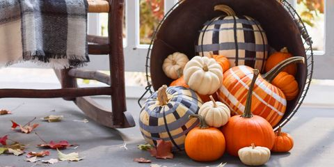 47 Pumpkin Painting Ideas No Carve Pumpkin Decorating