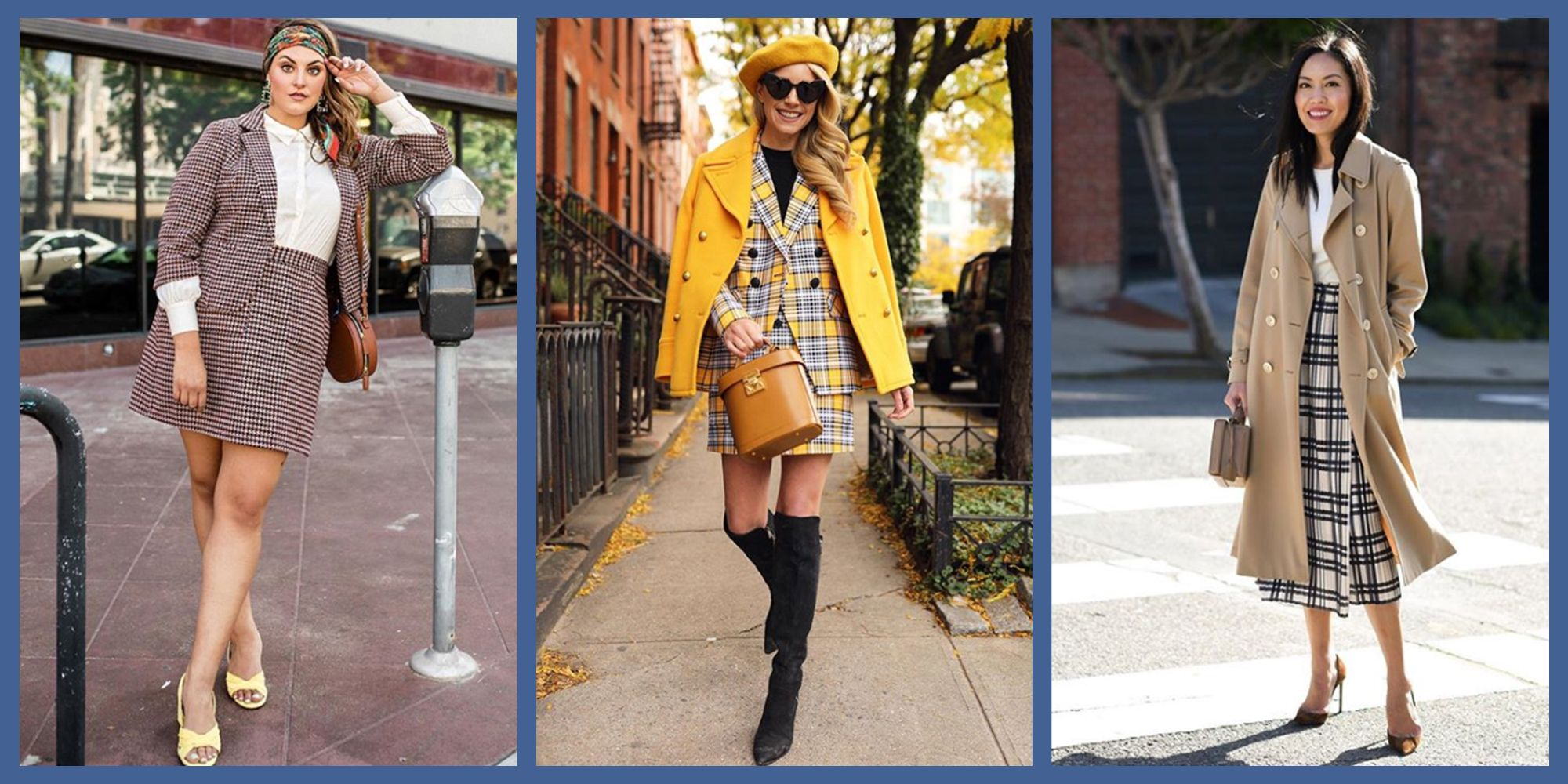 7 Plaid Skirt Outfit Ideas - How to Wear a Plaid Skirt This Fall