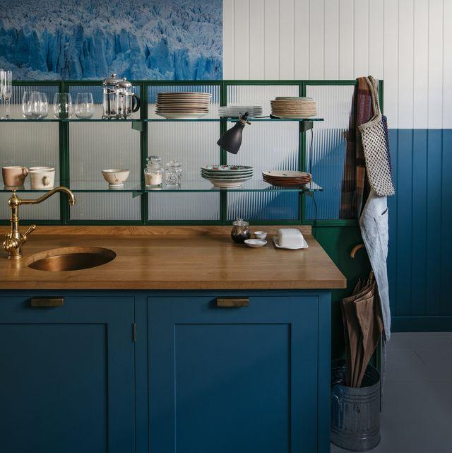 bespoke kitchen, starting at £50,000, plain english
