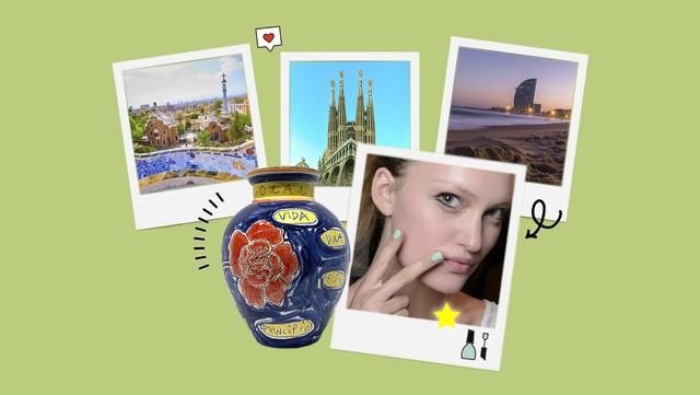 planes en barcelona, manicura, exposición de arte, atardecer en la playa, la sagrada familia y mucho más