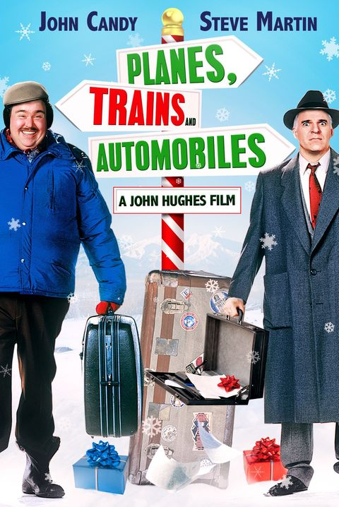 planes trains and automobiles best christmas movies