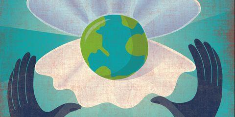 Green, World, Illustration, Earth, Planet, Circle, Pattern, Art,