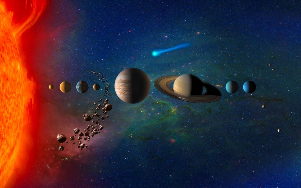 NASA's Four Possible Planetary Missions Stretch Across the Solar System