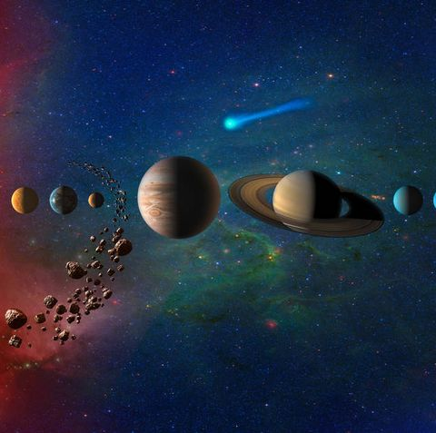 Outer space, Sky, Planet, Atmosphere, Astronomical object, Universe, Space, Astronomy, Science, Screenshot,